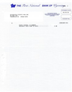 Riverview Bank Statement January 31 2014 Page 2