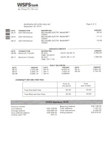 Riverview Bank Statement September 30 2015 Page 2