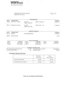 Riverview Bank Statement September 30 2015 Page 3