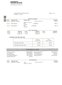 Riverview Bank Statement October 31 2015 Page 2