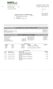 Riverview Bank Statement February 29 2016 Page 1